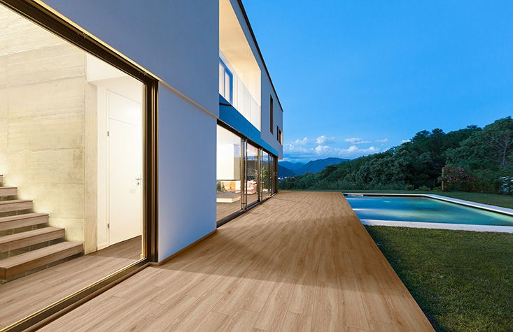 Pvto floor sol poca roble adz 22x85 decor for Pavimento terraza exterior