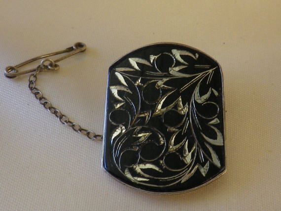 Vintage Amita Japan Sterling Silver Enamel by EternalElementsEtsy
