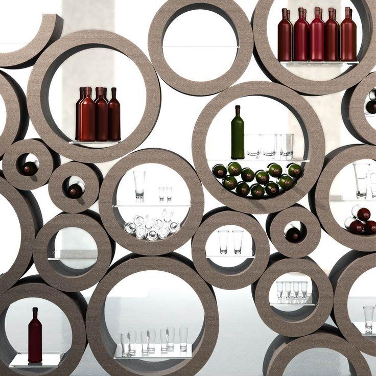 116 best cave et portes bouteilles de vin originaux images for Decoration porte tardis