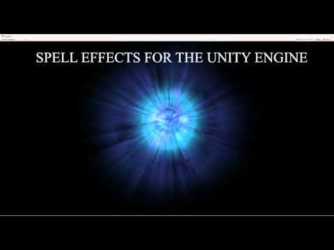 Unity Engine Spell Particle Effects Preview - YouTube