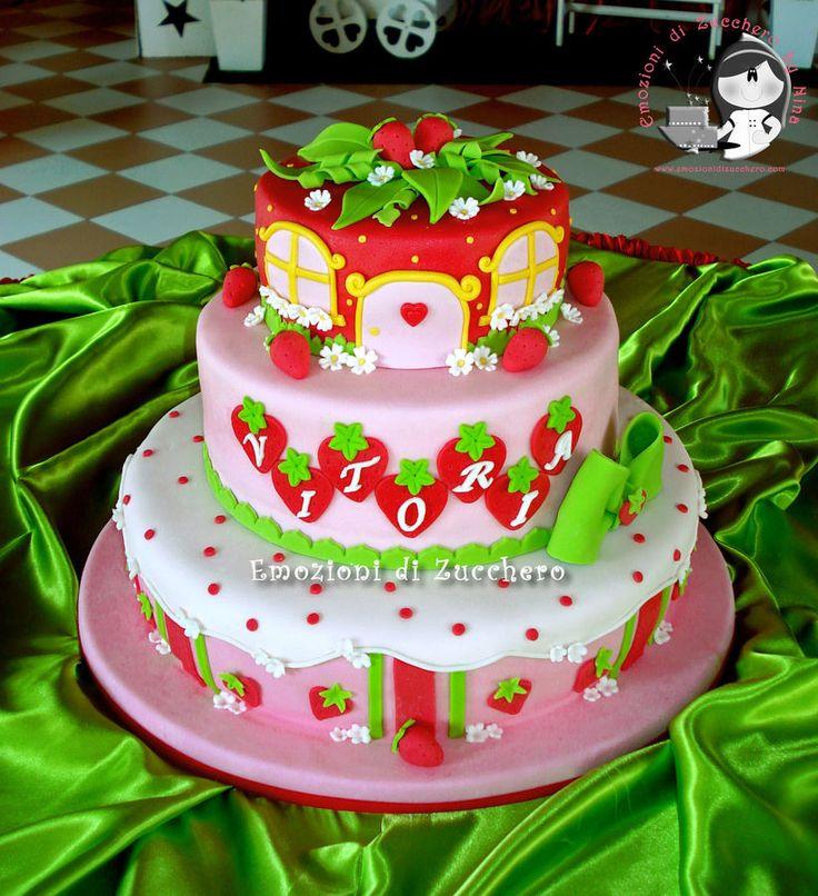 112 Best Strawberry Shortcake Cakes Images On Pinterest Birthday