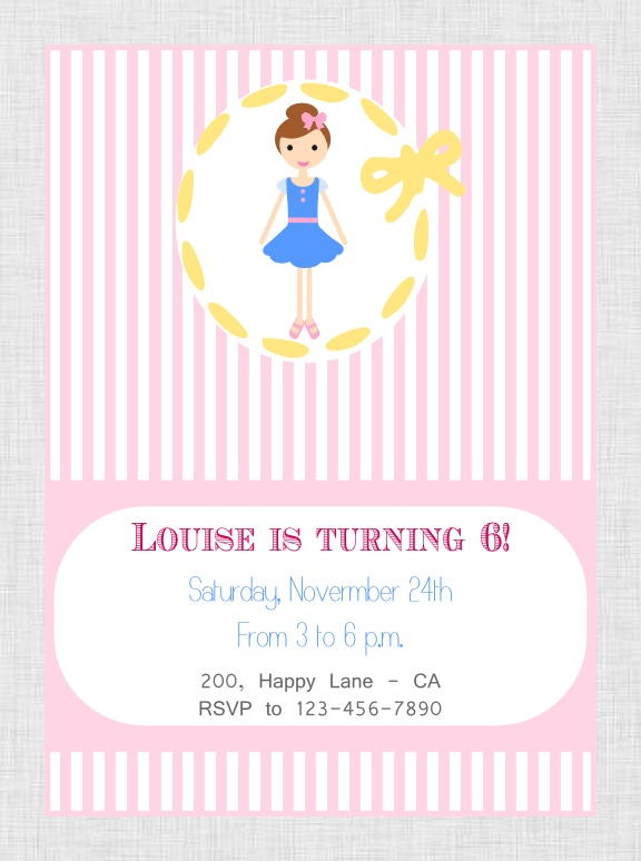 Printable  Loulou Party Package at our Etsy Shop http://www.etsy.com/shop/BistrotChic