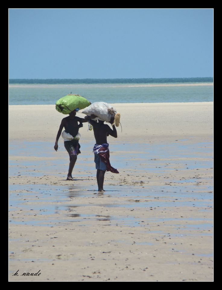 Woman at Work / Vilanculos Mozambique