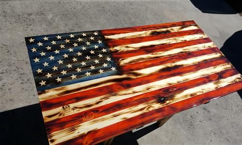 Simply Rustic Flags - Handcrafted Wood Flags - Shop