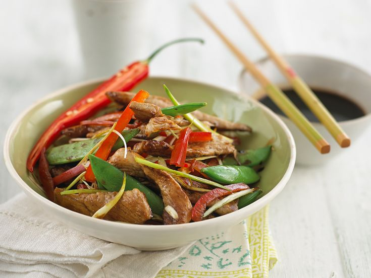 17 best chinese new year images on pinterest family recipes chicken stir fry with sugar snap peas forumfinder Images
