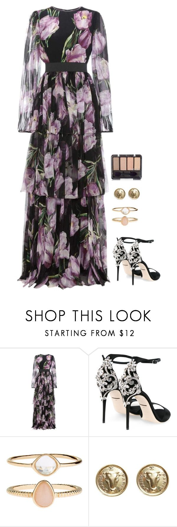 """""""Untitled #869"""" by h1234l on Polyvore featuring Dolce&Gabbana, Accessorize and Chanel"""
