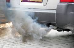 Air pollution can also come from cars.