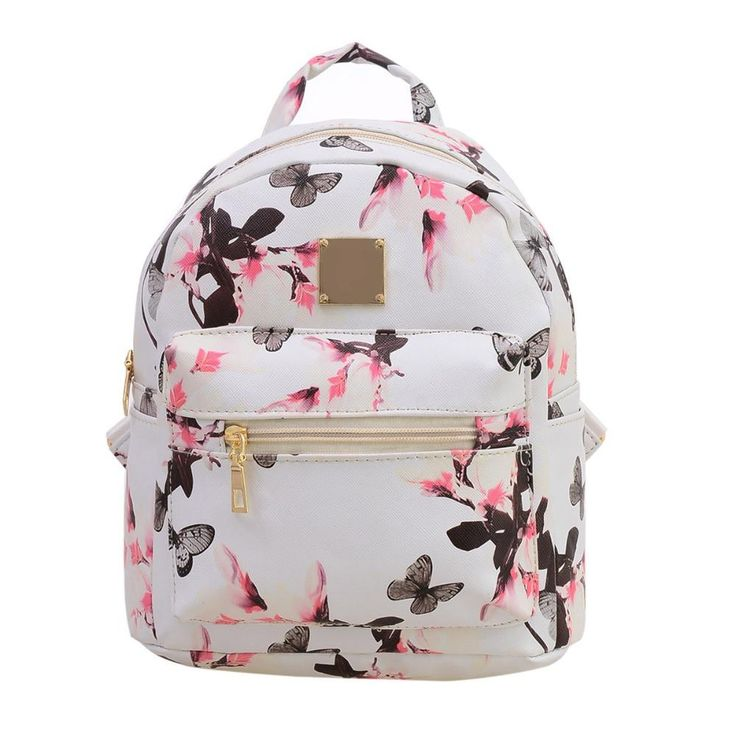 Fashion Floral Printing Women Leather Backpack School Bags for Teenage Girls Lady Travel Small Backpacks Mochila Feminina  #backpack #bagshop #kids #highschool #Happy4Sales #L09582 #WomenWallets #fashion #handbags #bag #YLEY #shoulderbags