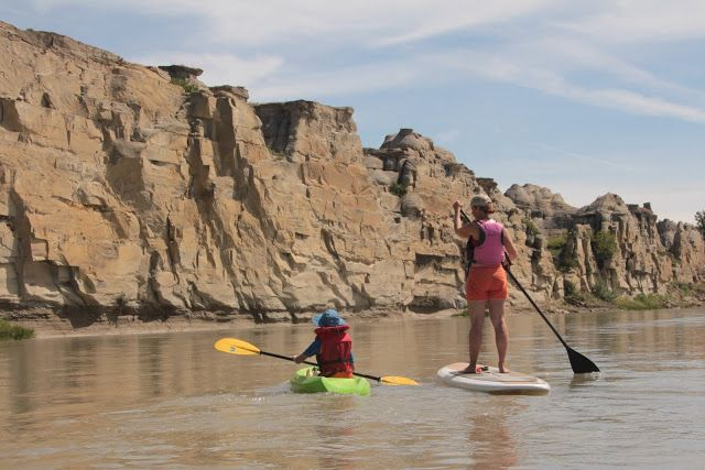 Family Adventures in the Canadian Rockies: Find us in the River - Camp Life at Writing on Stone Provincial Park