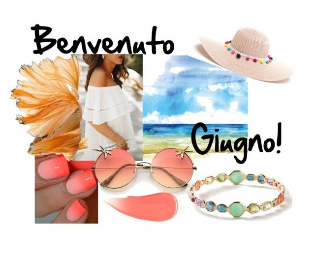 """Giugno"" by misisspoly on Polyvore featuring moda, Burberry e Ippolita"