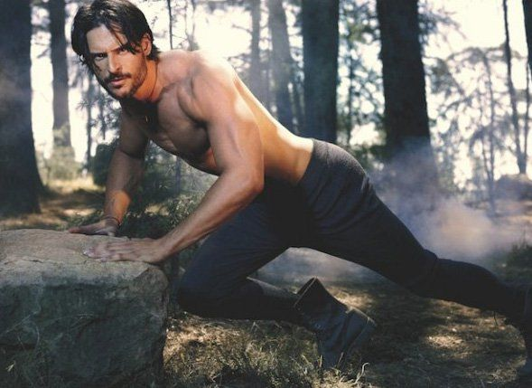 Pin for Later: We'll Never Tire of Seeing Joe Manganiello With His Top Off  Joe bared those buff arms for the November 2010 Vanity Fair Italia.