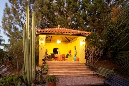 Awesome southwest style shed/house/outside space