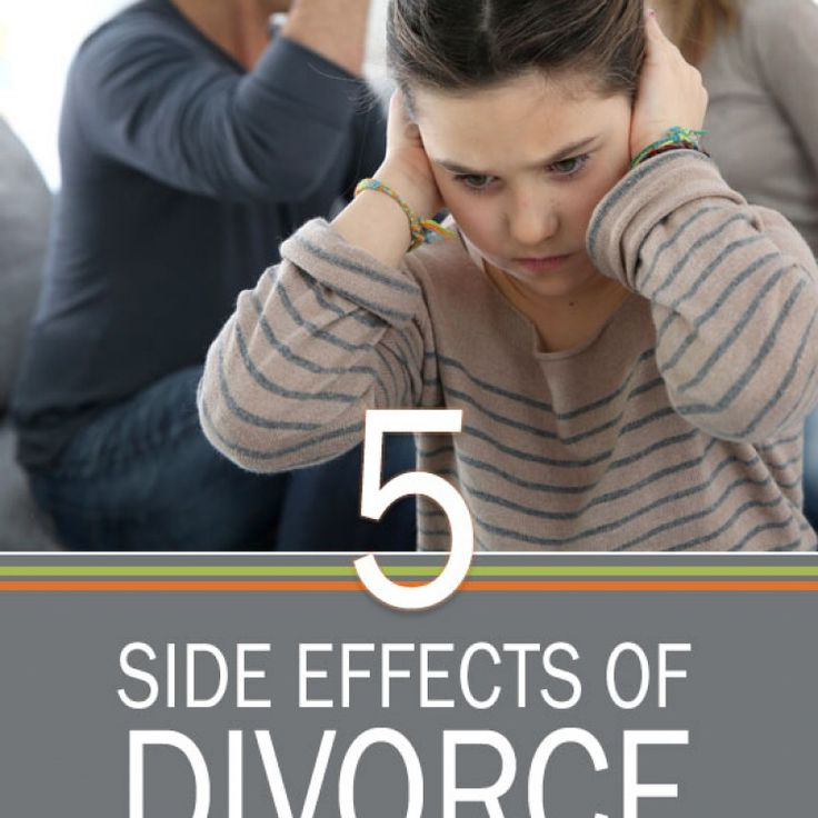 the negative effects of divorce on teenagers Divorce has been associated with multiple problems for children and teenagers  including: poorer peer relations, low self-esteem, diminished  hard on children,  it's often the fighting of the parents that most directly affects the children, and the.