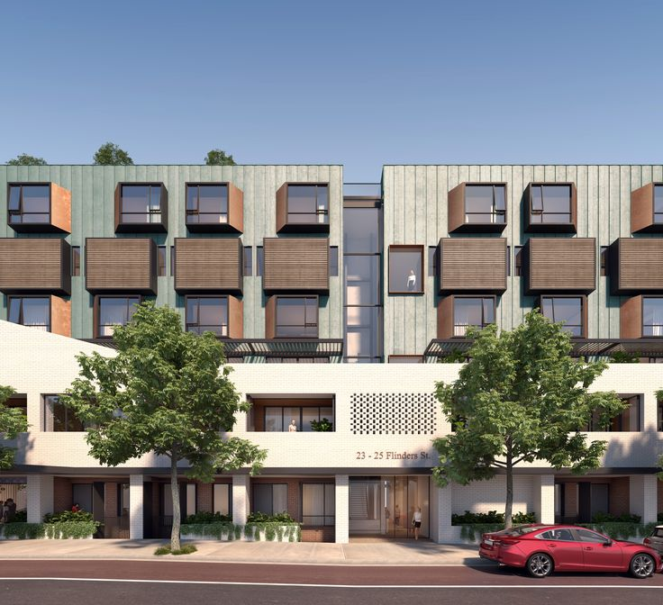 Surry Hills Apartments Winner of selected design competition