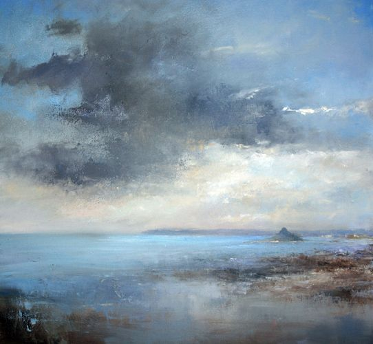 Evening Clouds Over Mounts Bay, Amanda Hoskin