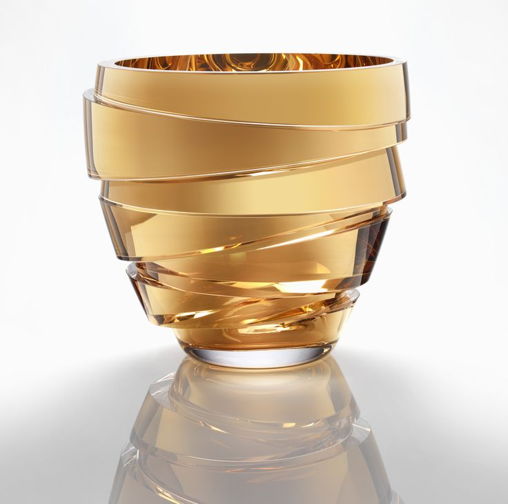 Anna Torfs, Parts Low, crystal, gold | glass