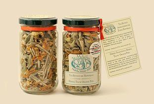 Herbal Tea with Orange Peel #Mylelia #HerbalTea #GreekProducts