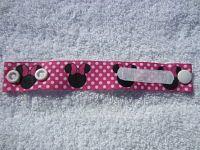 Minnie Mouse Identity Bracelet-minnie mouse identity bracelet girls lost and found snaps