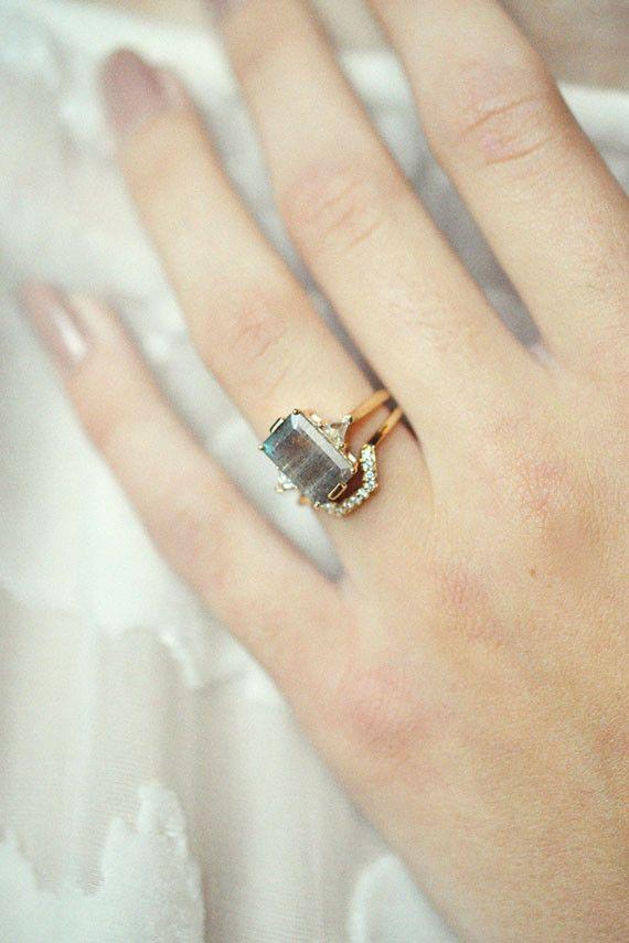 Anna Sheffield - Labradorite Bea Ring | BONA DRAG