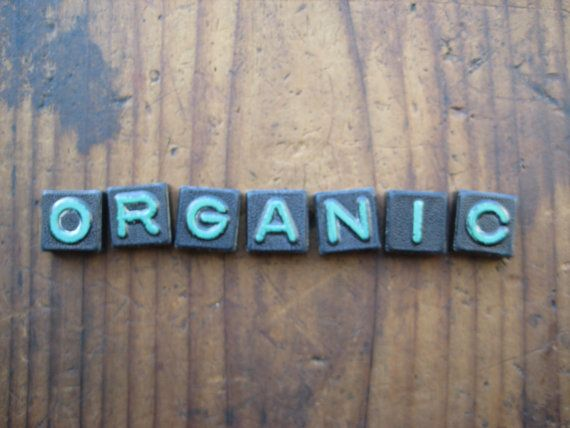 ORGANIC Vintage Wood Anagram Game Pieces by hoitytoitydesigns, $13.00