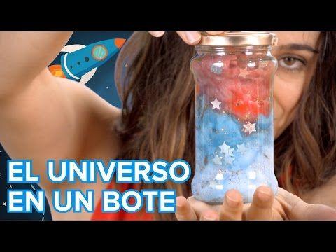 Cómo encerrar el universo en un frasco de cristal. Experimento infantil