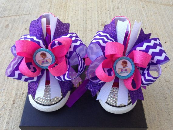 Doc Mcstuffins bling shoes Doc Mcstuffins by Mypartygoodies