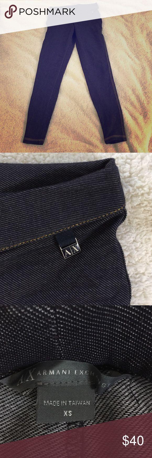Armani Exchange Leggings Denim inspired leggings by Armani Exchange Armani Exchange Pants Leggings