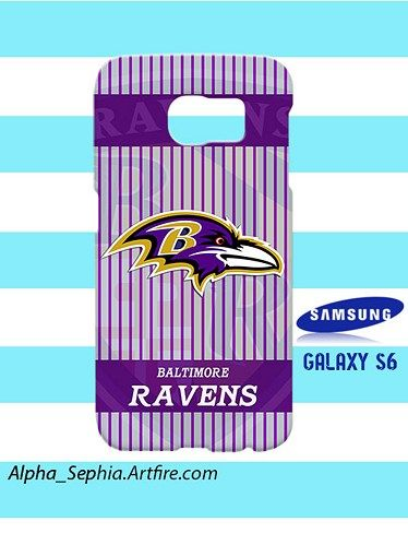 Baltimore Ravens Samsung Galaxy S6 Case Cover Hardshell
