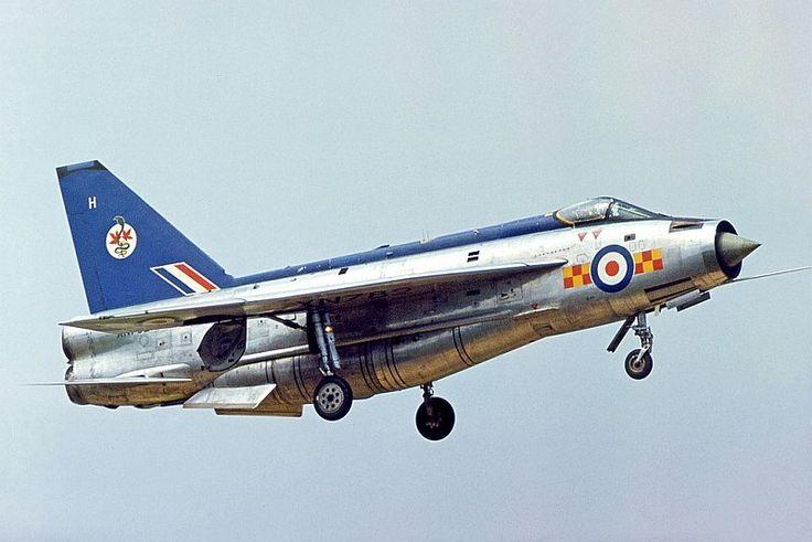 English Electric Lightning F2A at RAF Gütersloh