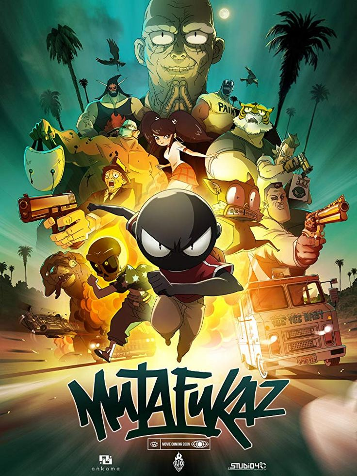 Mutafukaz or mfkz as its known on netflix is a totally