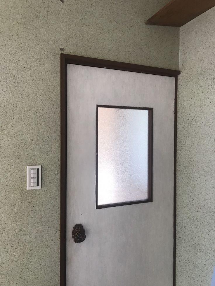 ENJOYWORKS/エンジョイワークス/door/塗装/ドア/扉/DIY/リノベーション/renovation/SKELTONHOUSE/スケルトンハウス