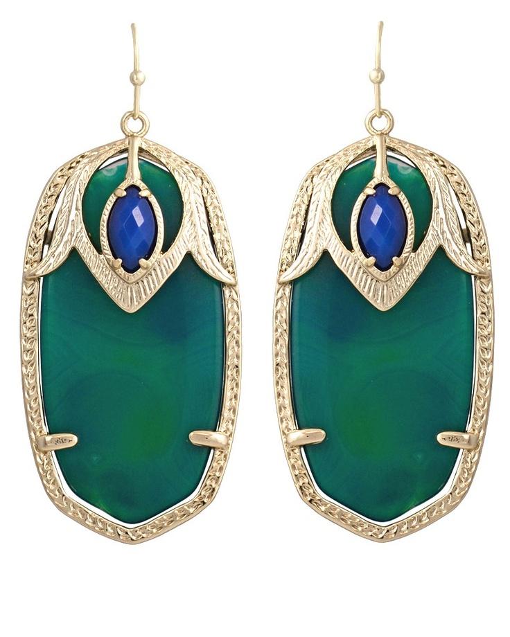 Darby Earrings in Cactus: Women Fashion, Woman Fashion, Darbi Earrings, Scott Jewelry, L'Wren Scott, Kendra Scott, Art Deco Earrings, Fashion Jewelry, Scott Darbi