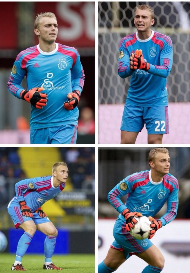 Jasper Cillessen in action - goalkeeper Netherlands NT / Ajax Amsterdam