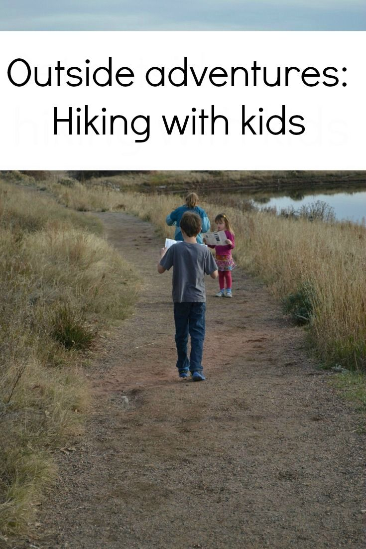 outside adventures -- hiking with kids