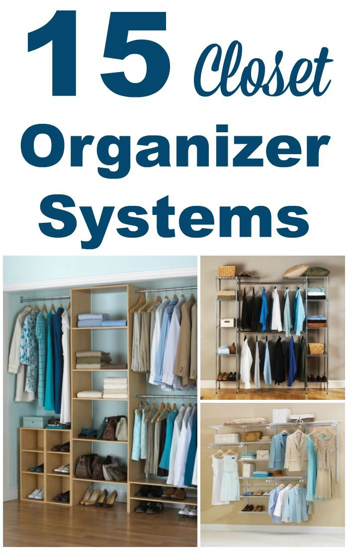 A Closet Organizer System Can Be A Great Way To Get Your Closet Organized.  Here