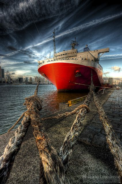 WOW.....THIS IS SO AMAZING! Port of Rotterdam,The Netherlands |  by Philippe Lejeanvre, via Flickr