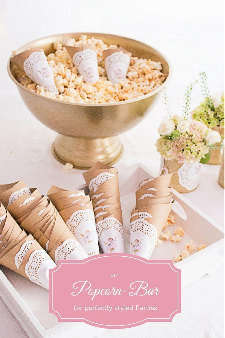 Partystyling + Dekoration für eine Hochzeit in gold und rosa