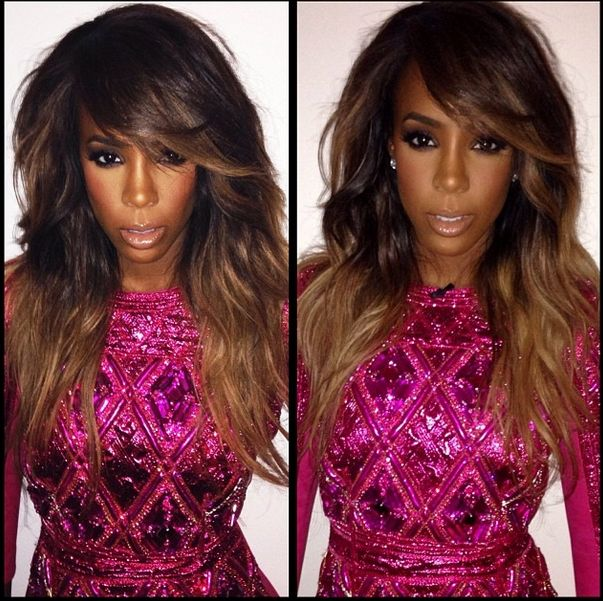 Impeccable Style Jury | Kelly Rowland's New Ombre Look
