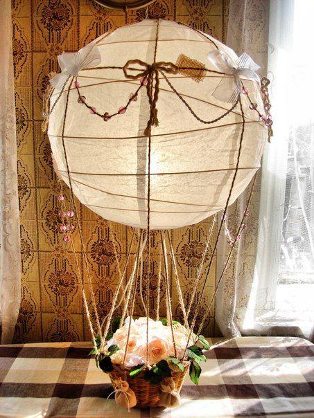 Светильник - воздушный шар. Обсуждение на LiveInternet - Российский Сервис Онлайн-Дневников
