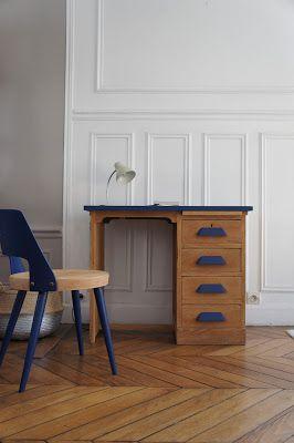 Atelier petit toit derni res r alisations en images le bureau de comptab - Petit bureau vintage ...