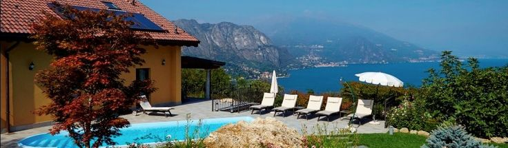 Villa Dei Sogni Italiassa on idyllinen, 240 neliön huvila, josta avautuu sanoinkuvaamattoman upeat näkymät Bellagion kaupungin ylle.