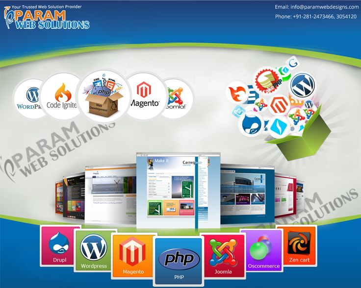 Param Web Solutions Provides #Web #Development Services as per the requirment of our client. www.paramwebdesigns.com