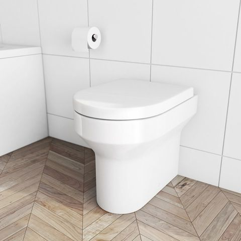 With graceful curves and soft lines, the back to wall toilet from our Oakley Range will suit most any style of bathroom. This back to wall toilet comes complete with luxury soft close seat. Height	420 mm Width	360 mm Depth	520 mm £90 25y guarantee