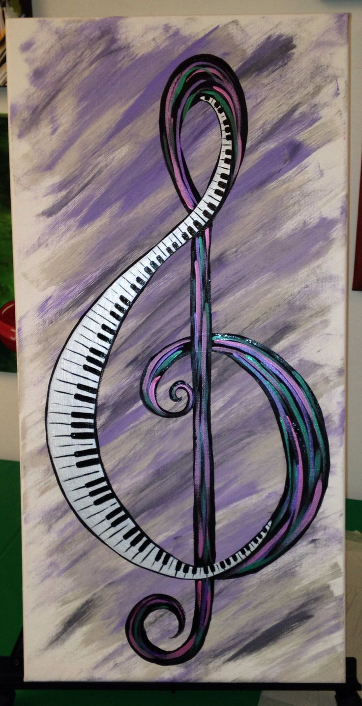 #music -  treble clef