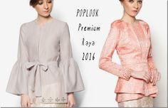 Baju Raya 2016 ~ Kebaya, Peplum, Kimono Style Blouse Ideas