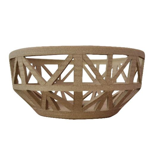Rustic Tabletop Bowl - Convivial Production - $46.49 - domino.com