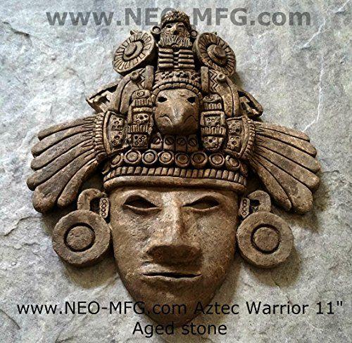 History Aztec Maya Mesoamerican Artifact Warrior mask Scu... https://www.amazon.com/dp/B013PWDKWO/ref=cm_sw_r_pi_dp_x_6822xbVAS51WW
