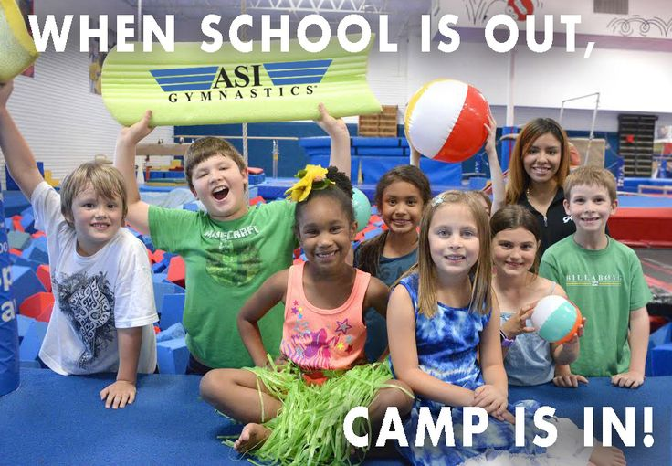 When school is out, camp is in at ASI Gymnastics!