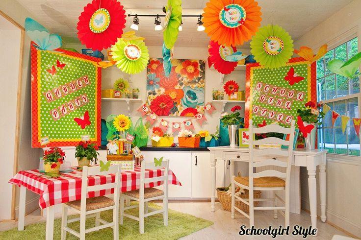 Orange Classroom Decor ~ Best classroom theme birds in the garden images on