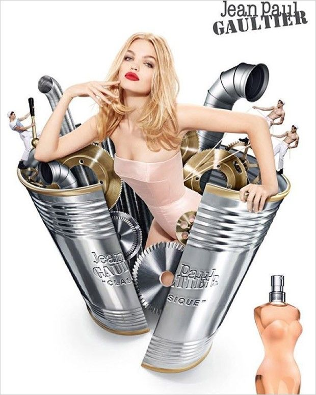 Jean-Paul Gaultier parfums-2016 AD
